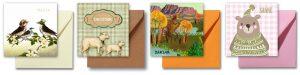 Geboortekaartjes met bijpassende enveloppen in meer dan 20 kleuren