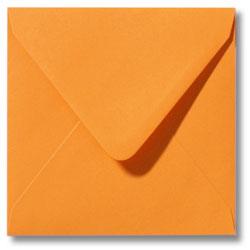 Enveloppen geboortekaartjes oranje