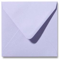 Enveloppen geboortekaartjes lavendel pastel