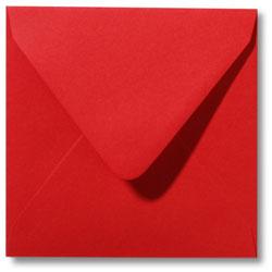 Enveloppen geboortekaartjes rood
