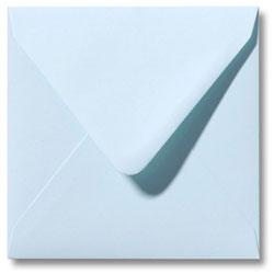 Enveloppen geboortekaartjes licht blauw