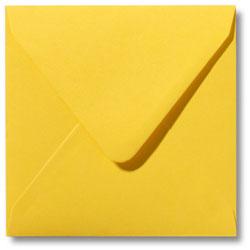 Enveloppen geboortekaartjes geel