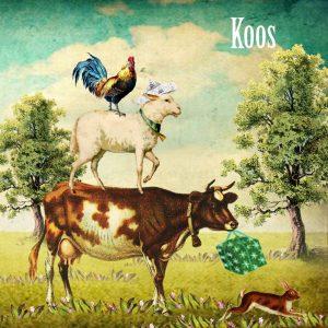 Geboortekaartje nostalgisch boerderij. Voor de kindjes die op de boerderij wonen of een koe, schaap of haan in de tuin hebben.