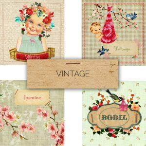 Retro geboortekaartjes en nostalgische geboortekaartjes van Studio POPPY. Deze speciale vintage geboortekaartjes maken het extra bijzonder.