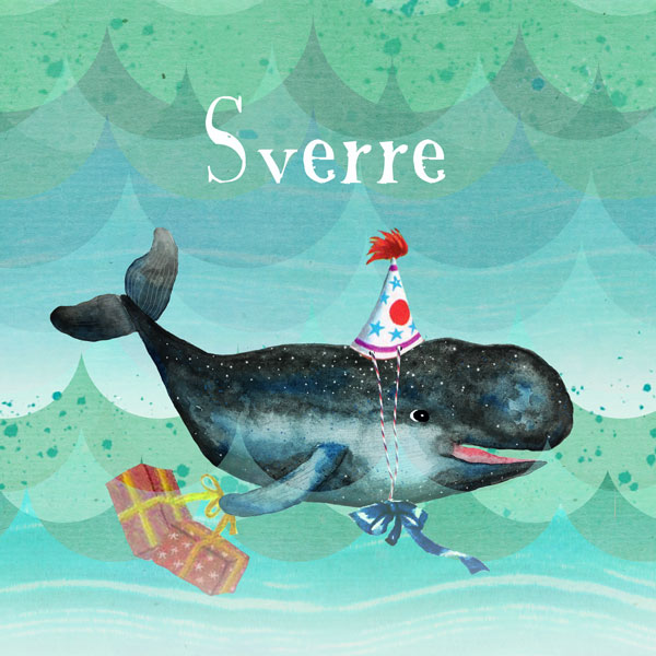 Geboortekaartje walvis