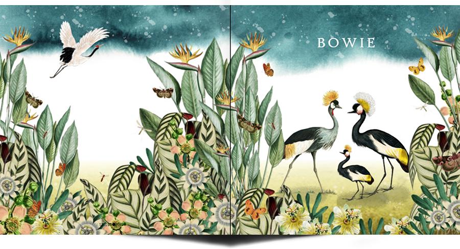 Geboortekaartje jungle paradijsvogels. Natuurlijke elementen komen veel terug in de geboortekaartjes van Studio POPPY. Maan, sterren, jungle dieren, botanische elementen. Kortom een geboortekaartje volgens de laatste trends. Ontwerp jouw persoonlijke kaart in de ontwerptool.